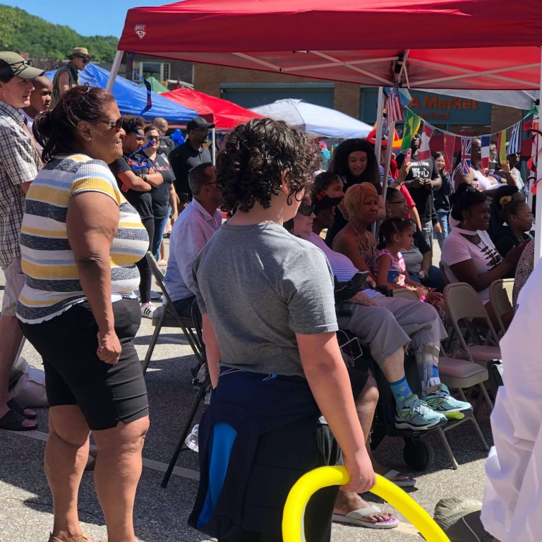 Global City Norwich 2019 Juneteenth Crowd