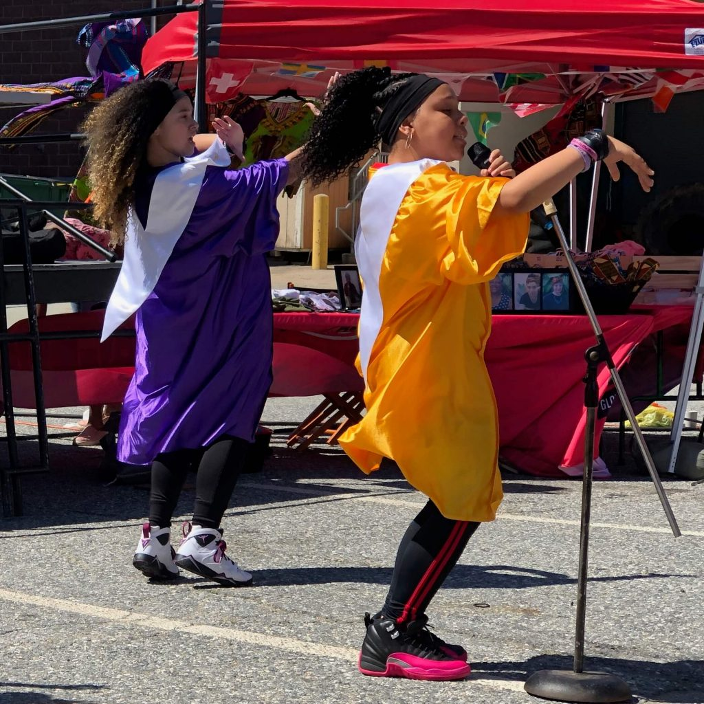 Global City Norwich 2019 Juneteenth Girls Performance