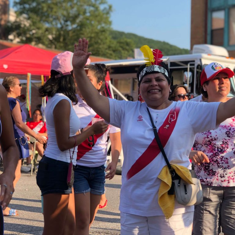 Global City Norwich 2019 Peruvian Festival Lady