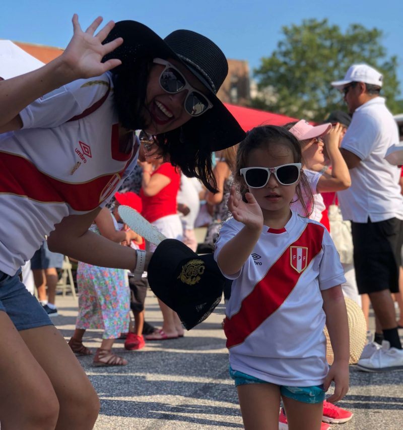 Global City Norwich 2019 Peruvian Festival Little Girl
