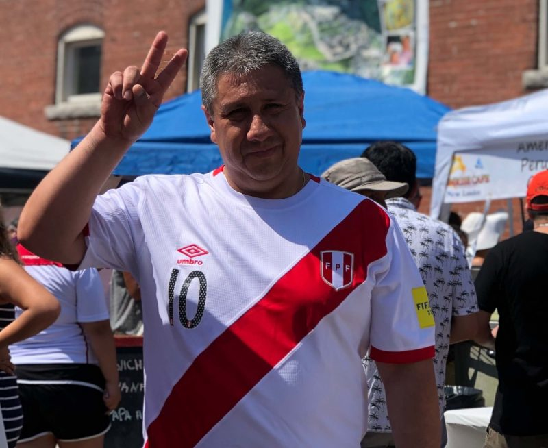Global City Norwich 2019 Peruvian Festival People