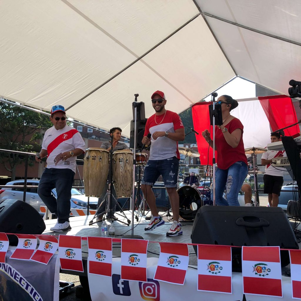 Global City Norwich 2019 Peruvian Festival Stage