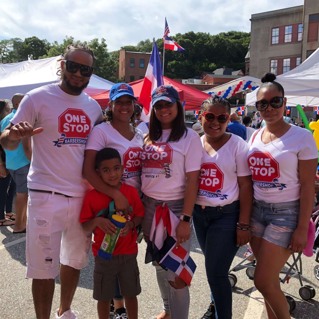 Global City Norwich Dominican Fest One Stop Barbershop