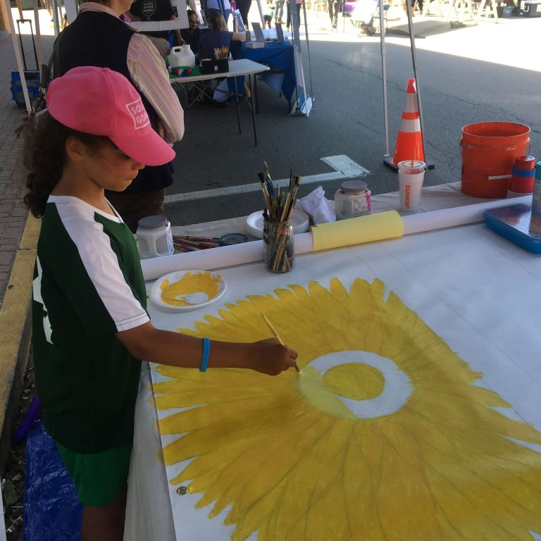 Global City Norwich Juneteenth Kids Painting